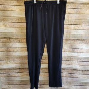 Orvis Signature Lounge Sweatpants Black Sz XL EUC